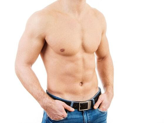 A smooth/shaved chest is...