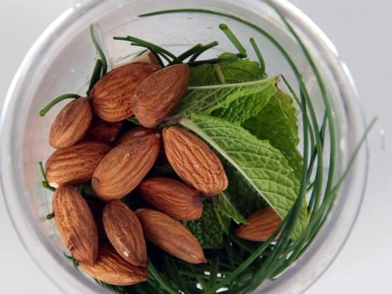 When it comes to chocolate: mint or almond?