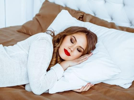 How often do you sleep with your makeup on?