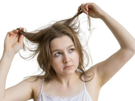 How often do you skip washing your hair and just use dry shampoo?