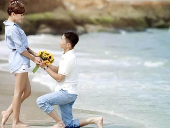 You've been dating for a long time and he proposes. How did he do it?