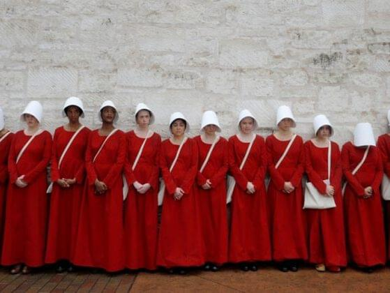 While most things in Gilead suck, there's government endorsed ritualized rape of the handmaids, which wins for