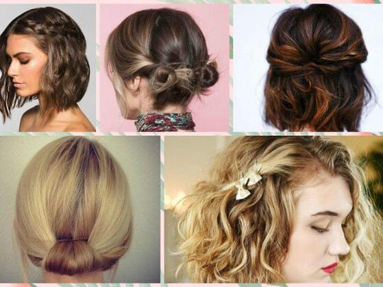 Pick a hairstyle:
